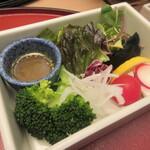 萬象閣 敷島 - 【生野菜サラダ】