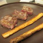 萬象閣 敷島 - 最初から出てるので好きなタイミングで食べられます♪