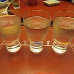 萬象閣 敷島 - 【大吟醸飲み比べ 1700円】