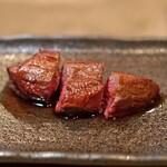 柳家 - 鹿のヒレ肉