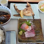 味処 海の桜勘 - 垂水漁協お勧めB定食1500円