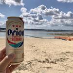 ブエノチキン - 沖縄の海にはオリオンが良く似合う