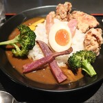 BAR&DINING KAZEMACHI - 欲張りカレー \1200(20-10)