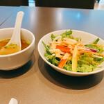 TRIPLE ONE Singapore & Chinese Cuisine - スープが胡椒効きすぎていた。