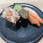 回転寿司 ととぎん - カニ三昧