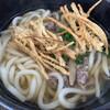 tenukiudommarushin - 料理写真:肉ごぼううどん+ごぼう天トッピング