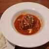 黒牛の里 - 料理写真:トマトソースの煮込みハンバーグセット(税別2,100円)