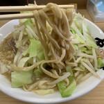 島系本店 - 麺は太麺に変えてもらいました!