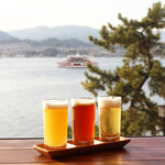 MIYAJIMA BREWERY - 宮島で自家醸造した『宮島ビール』。1階でテイクアウトもできます。