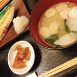 函館海鮮居酒屋 新久 - お味噌汁