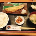 函館海鮮居酒屋 新久 - 塩さば焼き定食