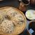 松翁 - 料理写真:〆の二色もり