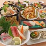 三代目網元 魚鮮水産 - 海鮮コース