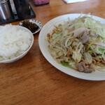 天舟 - 皿うどんと白飯セット