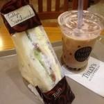 タリーズコーヒー - 201207タピオカ&HLT