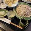 手打ちそば 秋新 - 料理写真:天ぷらせいろ梅