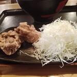 キッチン男の晩ごはん 女の昼ごはん - 竜田揚げ(店頭価格140円)