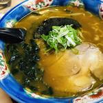 しぶき屋 - カレーラーメン味噌味750円