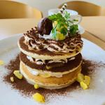 さっちゃんのママ - 料理写真:モンブランパーケーキ