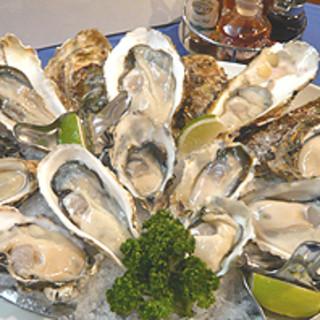 北海道産生牡蠣の種類が豊富です。