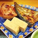 銀座 熊さわ - 甘口卵焼きが美味しい。お魚はよく焼き