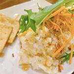 伊勢志摩食堂 - ホッキ貝ポテトサラダ アップ