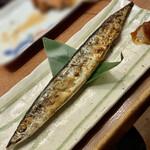 Tokuchan - さんまの一本焼き 450円(税抜)