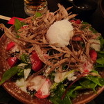 日本三昧 鉄板鍋 十焼十鍋 - 宮崎チキン南蛮サラダ