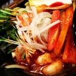 スタ麺 轟 - 期間限定激辛トムヤムクン麺800円