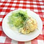 洋食 大吉 - 追加のポテサラ