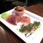 イタリアンバール イル カドッチョ - 本日の前菜3点盛り(730円)