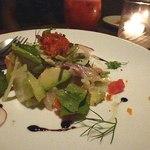 13951005 - 鯛とアボカド・季節野菜のマリネ