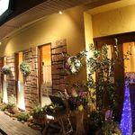 イタリア厨房 KUNISHIMA - 夜の外観
