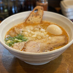 はりけんラーメン - ・鶏そば 塩 830円/税込 ・味玉 100円/税込