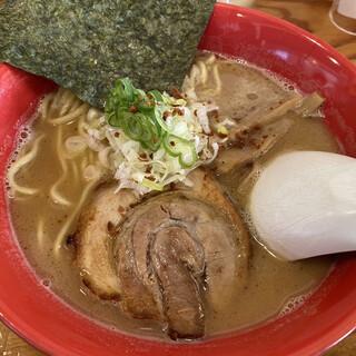 福の神 - 料理写真:白湯そば840円(2020.10)