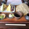 Teuchisobasuehiro - 料理写真:天せいろ大盛り❗️(๑>◡<๑)⭐️⭐️⭐️