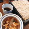 東家寿楽 - 料理写真:御膳生粉打ちそば  と  かしわ ぬき