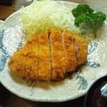 ぶんぷく - カツ定食