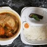 シャンティ - チキンと野菜のスープカレー②