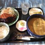 半二郎 - 月曜日の味噌カツランチ