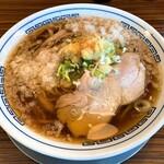 秋刀鮪だし 宣久 - 料理写真:背脂生姜そば(880円)