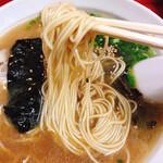 Shunyouken - 麺のアップです。(2020.10 byジプシーくん)