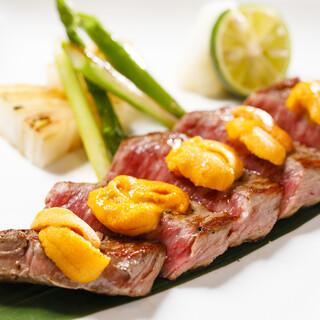 とろける味わいのお肉や、一品料理をバリエーション豊富にご用意