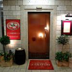 ピッツェリア・サバティーニ - 階段への入口