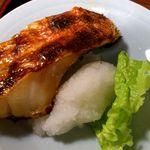 魚や 旬 - 魚や 銀座店 魚づくし定食 赤魚(アラスカメヌケ?)の塩焼