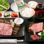 焼肉せんりゅう - ランチコース(贅沢和牛4,000円 )