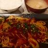 しらたき - 料理写真:カレー焼きそば定食