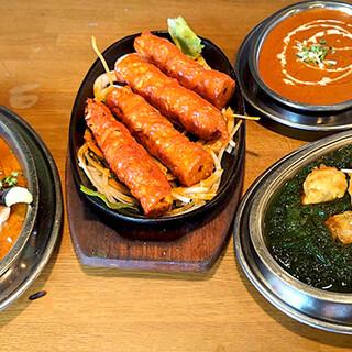 本場のインド料理!色んなものを味わってください♪