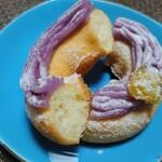 クリスピー・クリーム・ドーナツ - モチムチ紫芋モンブラン