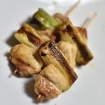 宮下食品 - 料理写真:鳥ねぎま(1本100円)2020年10月